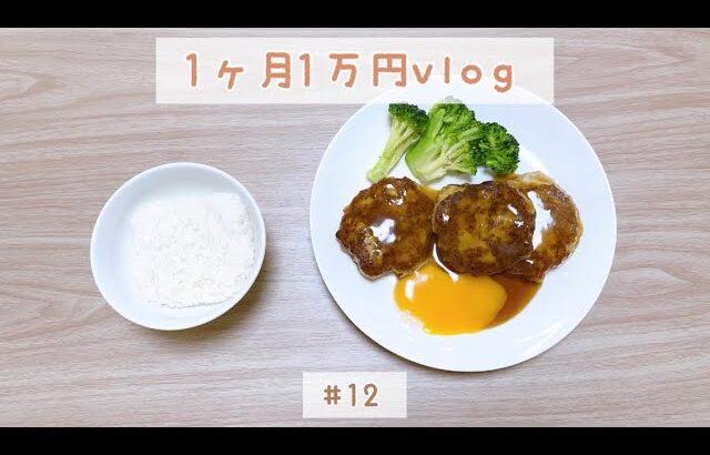 食費1ヶ月1万円を目指すvlog #12 / 節約 / レシピ / 献立